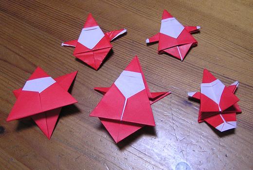 クリスマス 折り紙 サンタ 折り紙 : divulgando.net