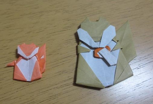 簡単 折り紙 りす 折り紙 : kinoomocha-daisuki.blog.so-net.ne.jp